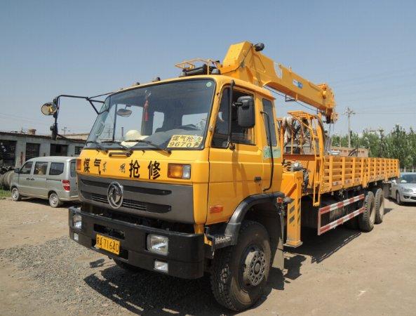 内蒙古呼和浩特贺师傅购买的广林13吨随车吊