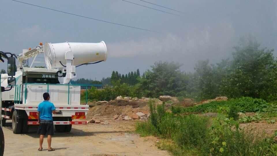 多功能抑尘喷洒车喷水试验400-926-2926