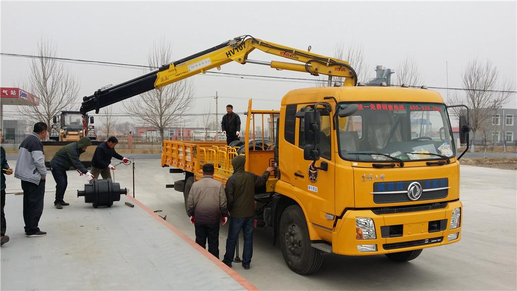 易胜博主页所工作人员检验150吨地秤