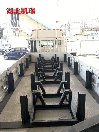31吨国五好运彩平台车车内砝码定位装置