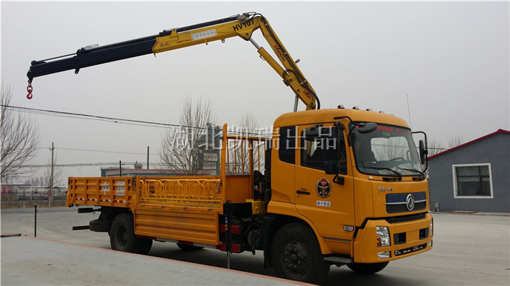 【计量检衡车】天锦8吨计量检衡车交车仪式-康平计量测试所