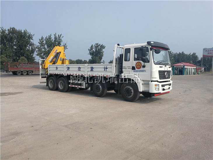禹州市质量监督检验测试中心DWJ5312JJHD5型计量检衡车