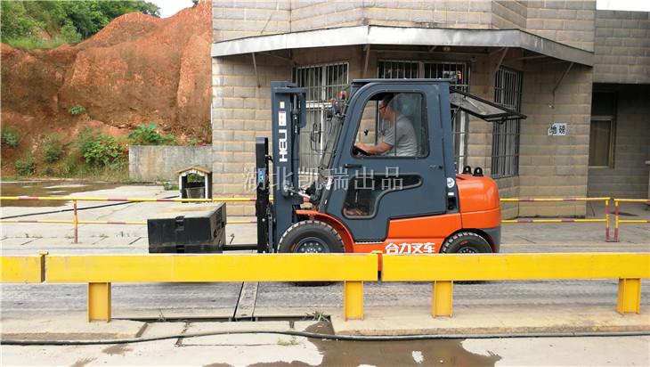 长沙市宁乡计量所采购的DWJ5313JJH计量检衡车
